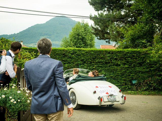 Le mariage de Chris et Lucy à Saint-Martin-d'Uriage, Isère 38