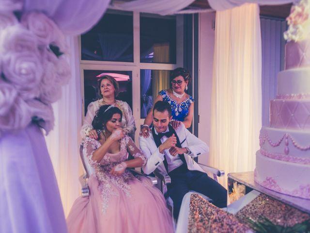 Le mariage de karim et dalele à Bellefontaine, Jura 11