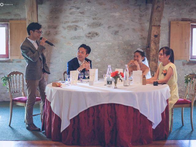 Le mariage de Gary et Cherrine à Monestier, Dordogne 74
