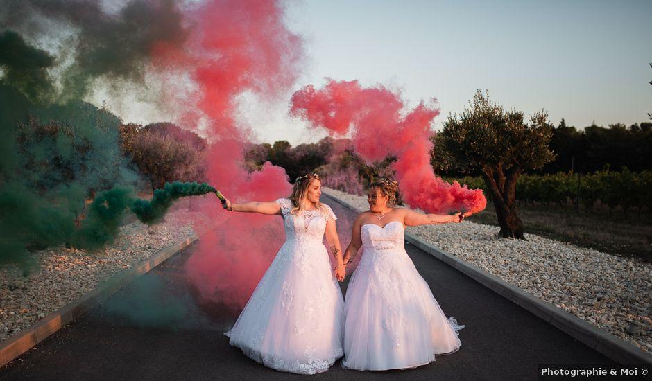 Le mariage de Sandra et Marie à Saint-Privat-des-Vieux, Gard