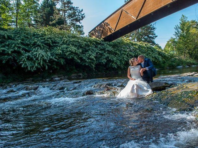 Le mariage de Julien et Sabrina à Bartenheim, Haut Rhin 11