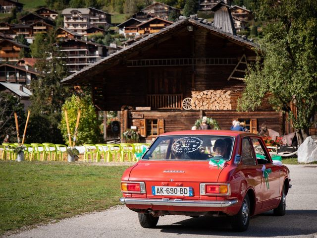 Le mariage de Emmanuel et Floriane à Le Grand-Bornand, Haute-Savoie 8
