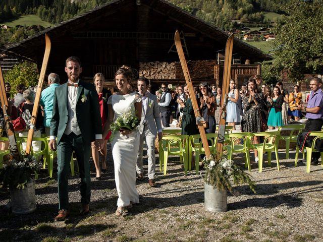 Le mariage de Emmanuel et Floriane à Le Grand-Bornand, Haute-Savoie 13
