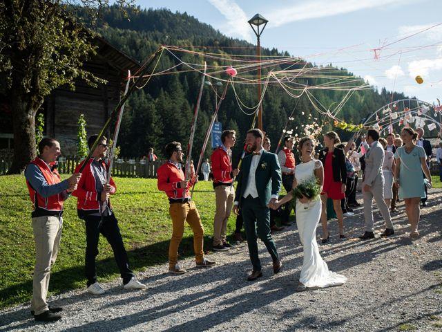 Le mariage de Emmanuel et Floriane à Le Grand-Bornand, Haute-Savoie 14