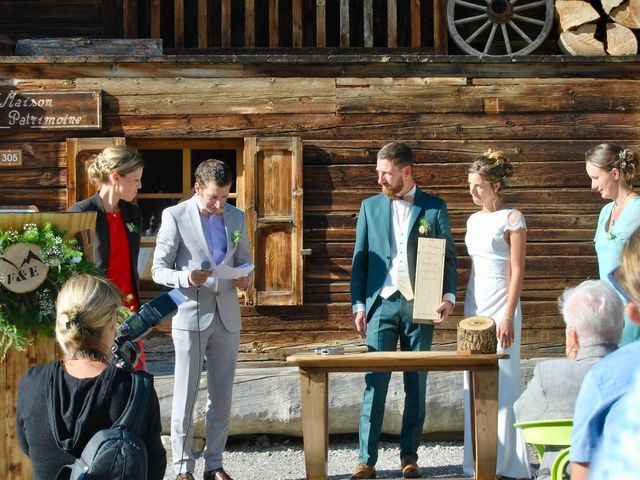 Le mariage de Emmanuel et Floriane à Le Grand-Bornand, Haute-Savoie 10