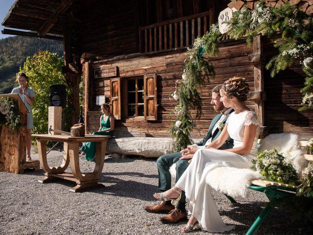 Le mariage de Emmanuel et Floriane à Le Grand-Bornand, Haute-Savoie 33
