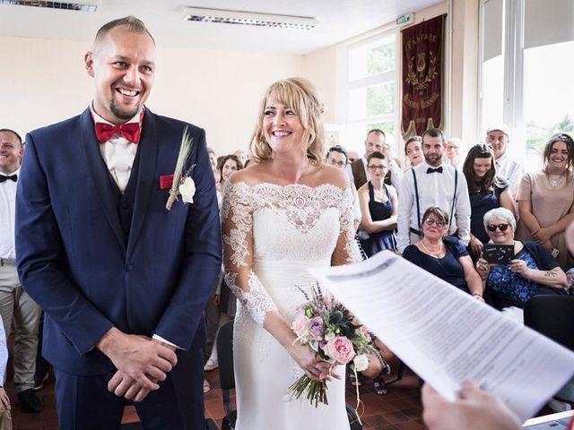 Le mariage de Johann et Charlotte à Épagne-Épagnette, Somme 15