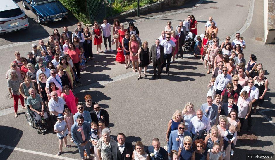 Le mariage de Julien et Sabrina à Bartenheim, Haut Rhin