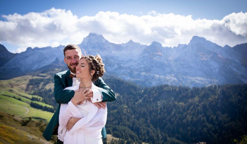 Le mariage de Emmanuel et Floriane à Le Grand-Bornand, Haute-Savoie
