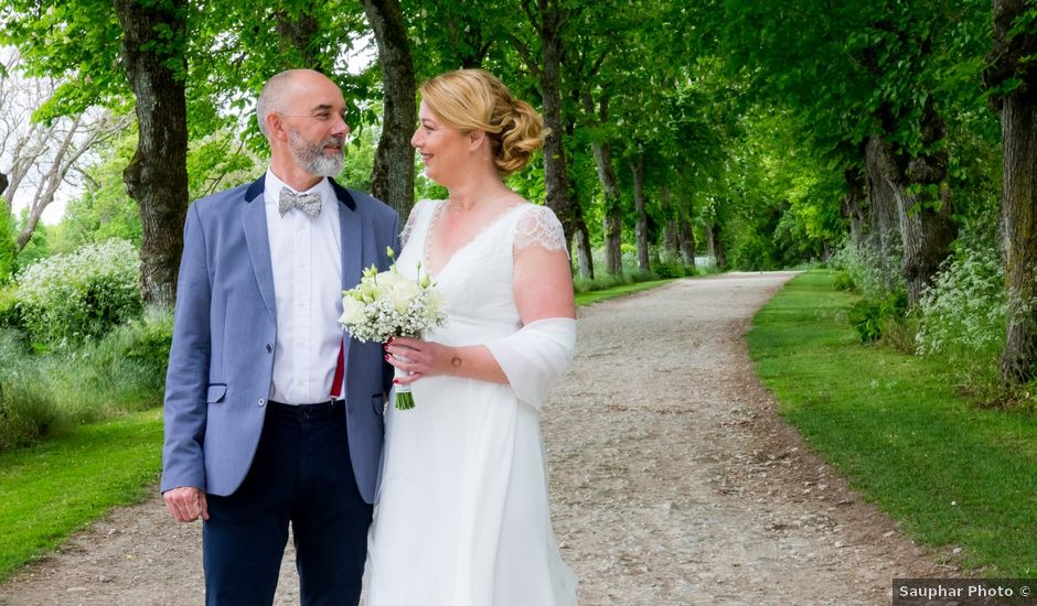 Le mariage de David et Kathy à Benon, Charente Maritime