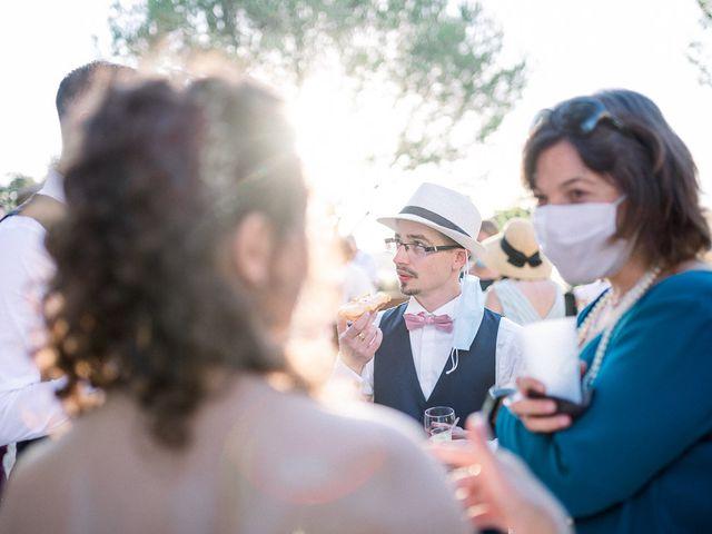 Le mariage de Mickaël et Aude à Nîmes, Gard 44