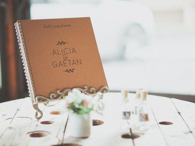 Le mariage de Gaëtan et Alicia à Cottance, Loire 25
