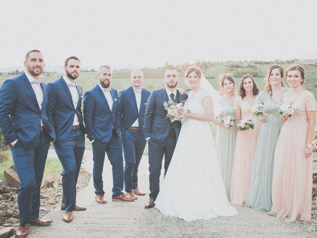 Le mariage de Gaëtan et Alicia à Cottance, Loire 26