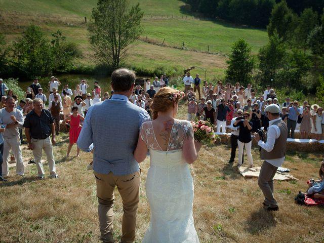 Le mariage de Jérôme et Julie à Oberhaslach, Bas Rhin 45