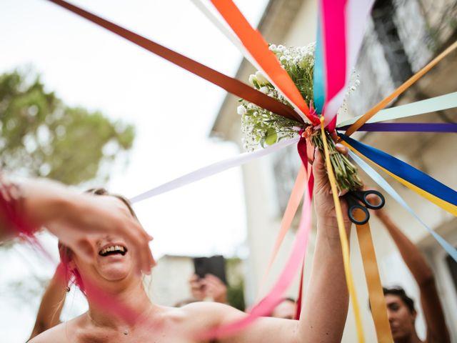 Le mariage de Hervé et Delphine à Anduze, Gard 32