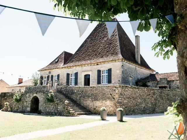 Le mariage de Maxence et Bonnie à Négrondes, Dordogne 1