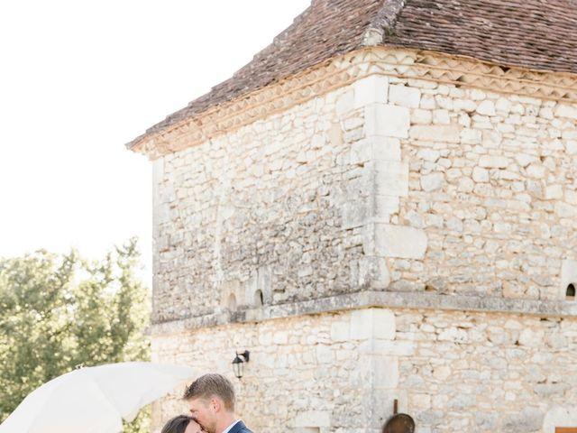 Le mariage de Maxence et Bonnie à Négrondes, Dordogne 13