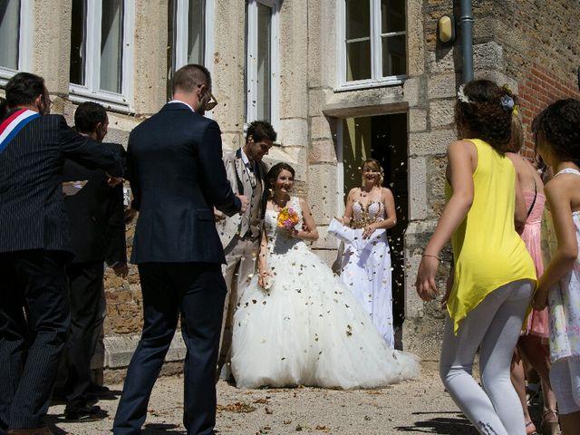 Le mariage de Cédric  et Flora  à Laives, Saône et Loire 78