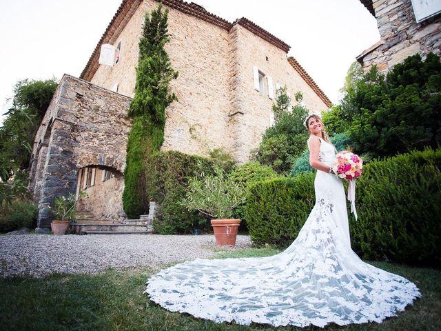 Le mariage de Julien et Agathe à Combaillaux, Hérault 1