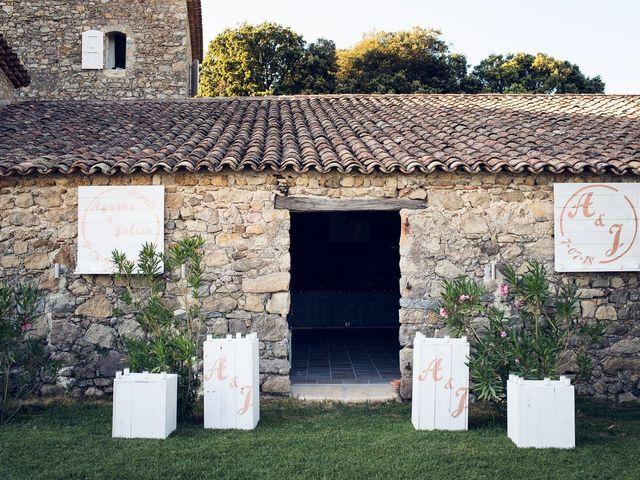 Le mariage de Julien et Agathe à Combaillaux, Hérault 75