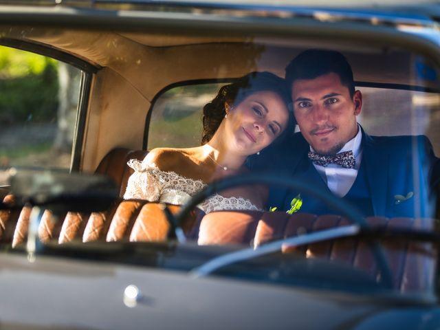 Le mariage de Valentin et Celine à Saint-Pardoux-la-Rivière, Dordogne 9