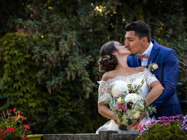 Le mariage de Valentin et Celine à Saint-Pardoux-la-Rivière, Dordogne 16