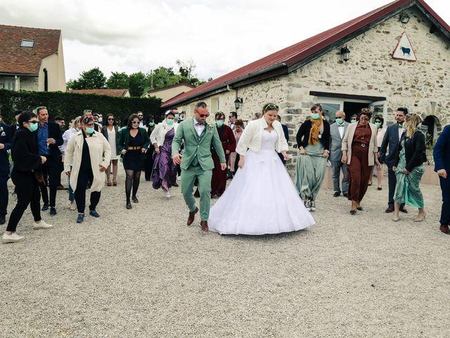Le mariage de Benoît et Charlotte à Bombon, Seine-et-Marne 107