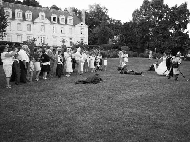 Le mariage de Jérôme et Sylvie à Saint-Michel-sur-Loire, Indre-et-Loire 63