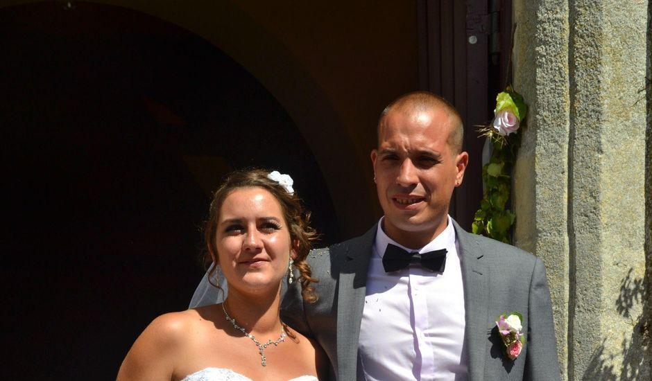 Le mariage de Isaüra et Allan à Sainte-Suzanne, Mayenne
