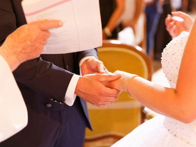 Le mariage de Nicolas et Lola à Alzon, Gard 13