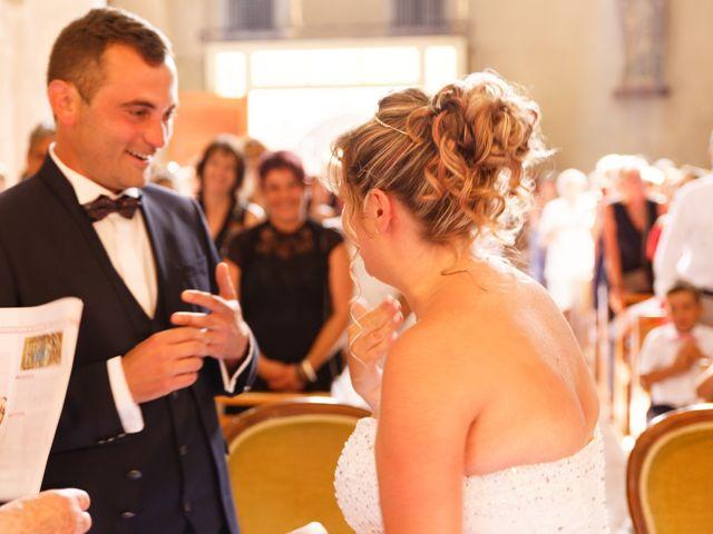 Le mariage de Nicolas et Lola à Alzon, Gard 14