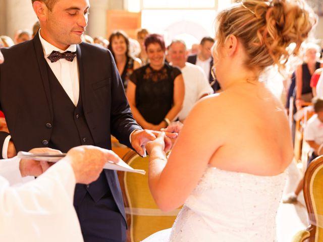 Le mariage de Nicolas et Lola à Alzon, Gard 15