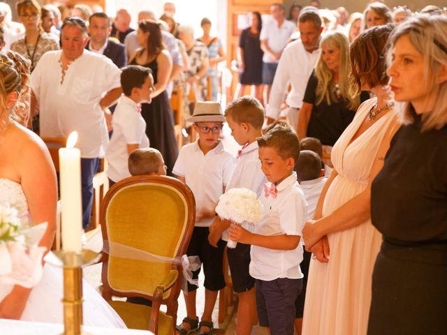 Le mariage de Nicolas et Lola à Alzon, Gard 17