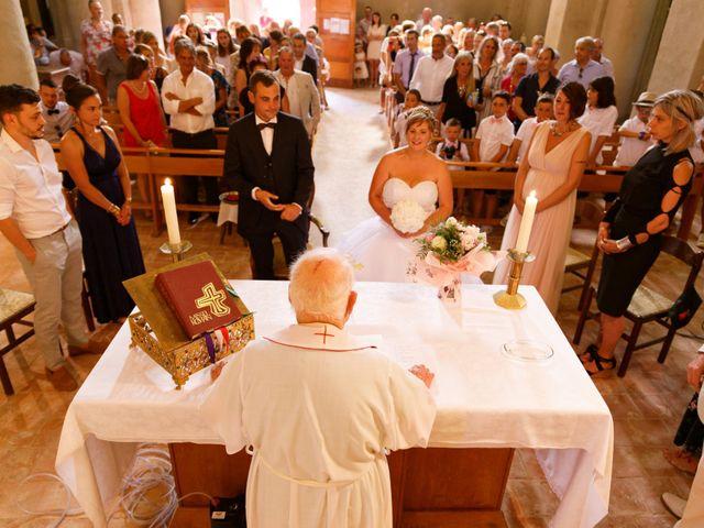 Le mariage de Nicolas et Lola à Alzon, Gard 20