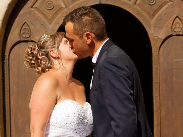 Le mariage de Nicolas et Lola à Alzon, Gard 21