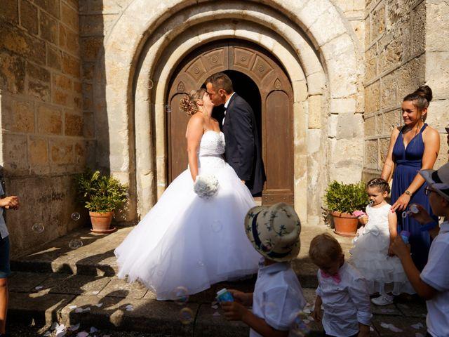 Le mariage de Nicolas et Lola à Alzon, Gard 22
