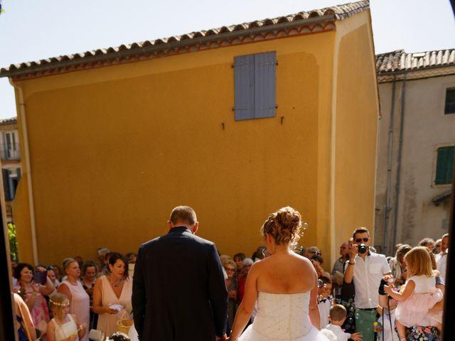 Le mariage de Nicolas et Lola à Alzon, Gard 24