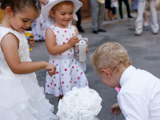 Le mariage de Nicolas et Lola à Alzon, Gard 25