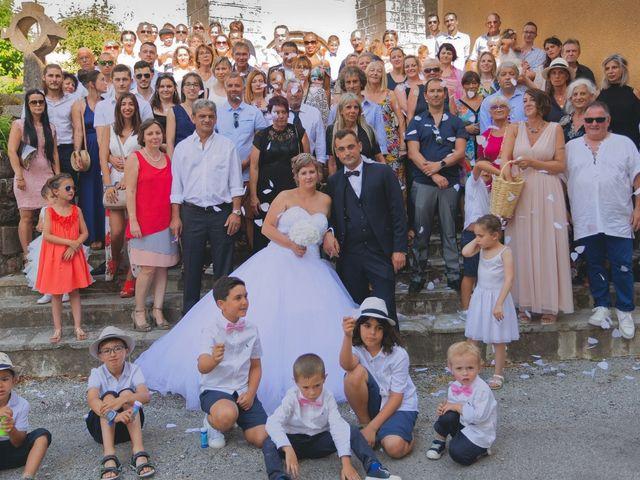 Le mariage de Nicolas et Lola à Alzon, Gard 28