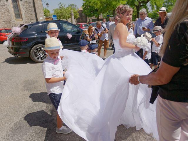 Le mariage de Nicolas et Lola à Alzon, Gard 42