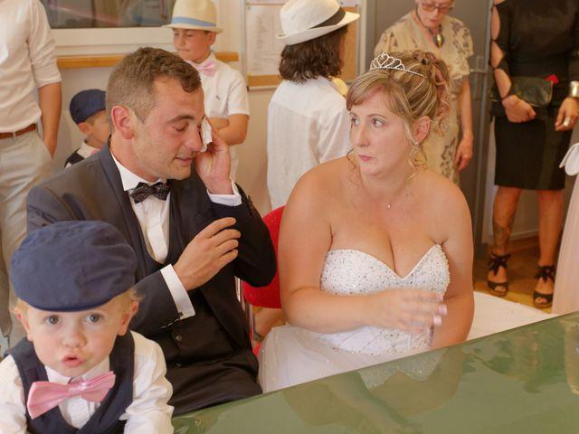 Le mariage de Nicolas et Lola à Alzon, Gard 45