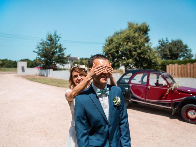 Le mariage de Guillaume et Céline à Locoal-Mendon, Morbihan 13