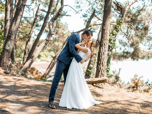 Le mariage de Guillaume et Céline à Locoal-Mendon, Morbihan 16