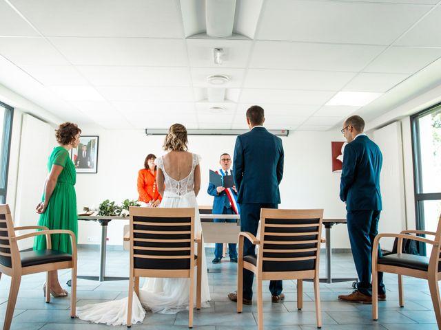 Le mariage de Guillaume et Céline à Locoal-Mendon, Morbihan 22