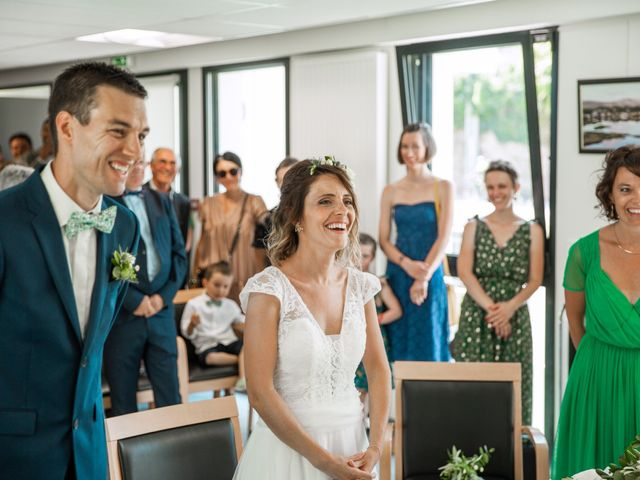 Le mariage de Guillaume et Céline à Locoal-Mendon, Morbihan 23