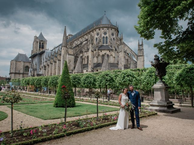 Le mariage de Fabrice et Tiphaine à Bourges, Cher 19