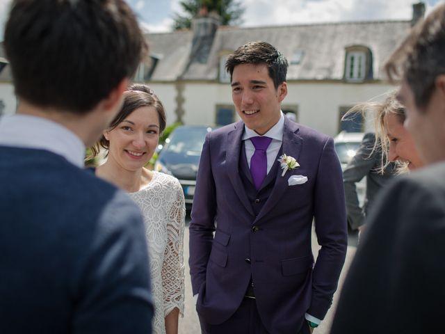 Le mariage de Vinvent et Maeva à Combrit, Finistère 32