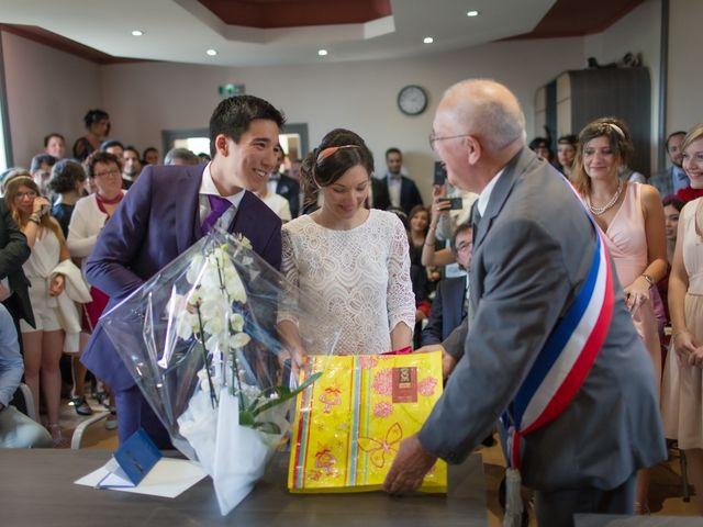 Le mariage de Vinvent et Maeva à Combrit, Finistère 41