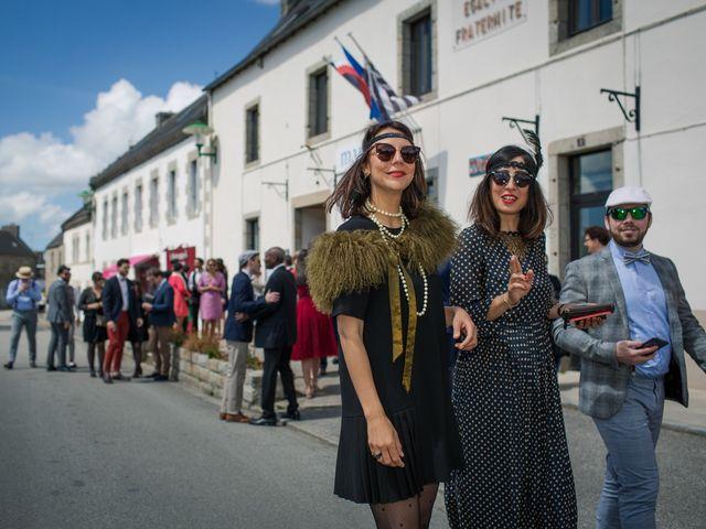 Le mariage de Vinvent et Maeva à Combrit, Finistère 44