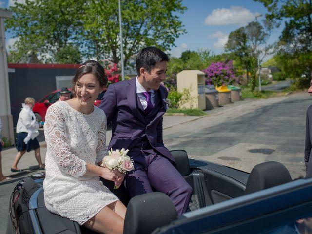 Le mariage de Vinvent et Maeva à Combrit, Finistère 45